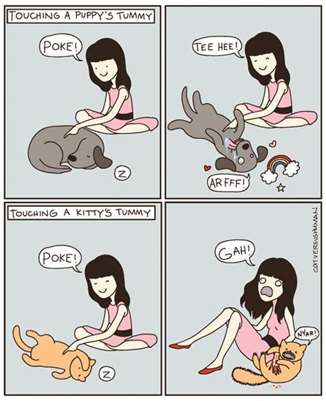 cat versus 15 hilarious comics that perfectly capture with cats bored panda