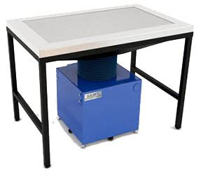 downdraft benches industrial downdraft bench table
