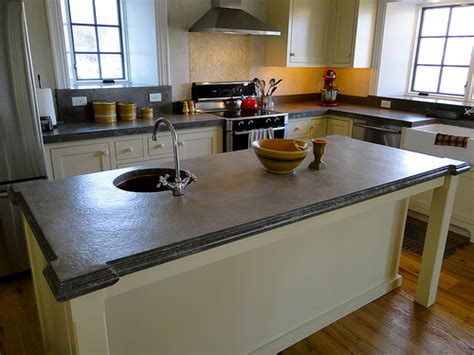 How To Pour A Concrete Countertop In Place by A Primer On Concrete Countertops Precast Vs Pour In Place