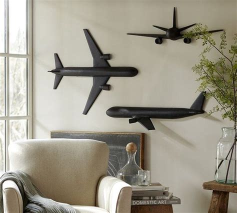 airplane home decor cast plane wall art pinteres