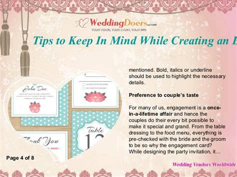 tips to keep in mind while creating an engagement party