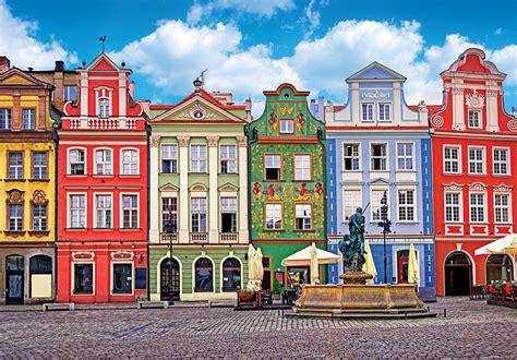colorful buildings colorful buildings ponzan poland jigsaw puzzle