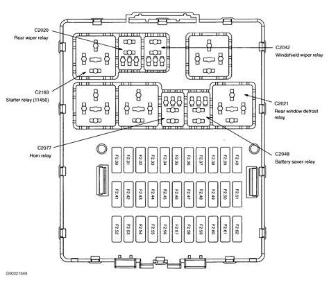 ford focus fuse diagram 2007 ford focus interior fuse box diagram wiring diagrams