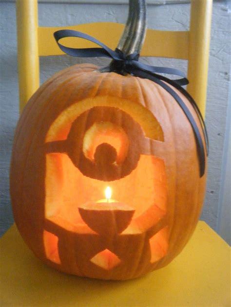 Minion Pumpkin Carving Template