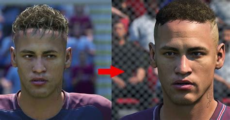 fifa 14 all hairstyles fifa 18 updates 58 player faces as neymar and david silva