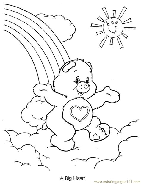 care bear coloring pages pdf coloring pages carebears1 cartoons gt care bears free