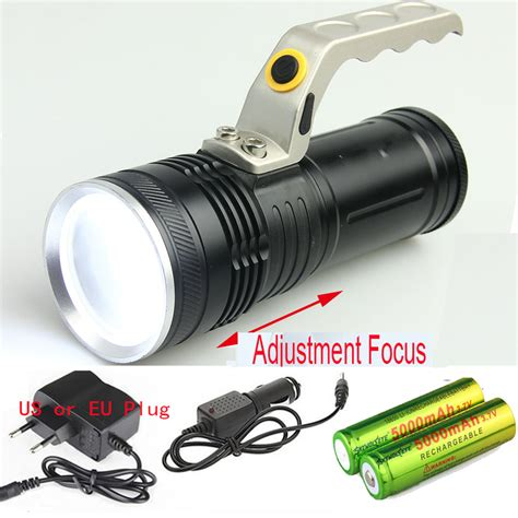 cree led rechargeable headl light zoomable cree led 1800lm rechargeable flashlight torch