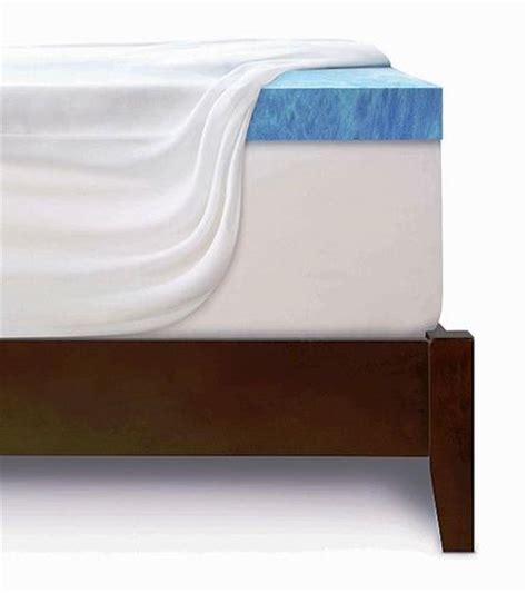 3 Inch Memory Foam Mattress Topper King Size by Serta 3 Quot Gel Memory Foam Mattress Topper King Size At Menards 174