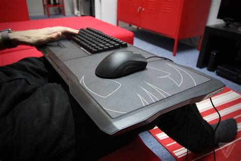 couch keyboard and mouse the roccat sova lapboard is the best way to play pc games