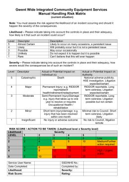 manual handling assessment form template manual handling risk assessment form