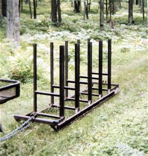 build firewood cutting rack farm show portable firewood cutting rack