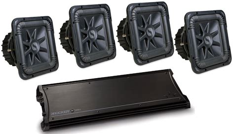 Kicker Zx2500 1 kicker car audio zx2500 1 class d lifier four s15l5