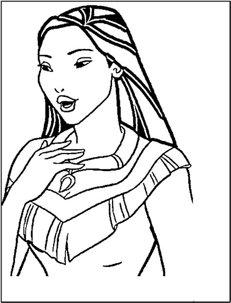 disney princess coloring pages pocahontas Printable