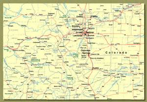 show me a map of arizona show me colorado