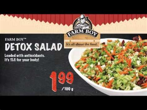 Farm Detox by Farm Boy Commercial Detox Salad