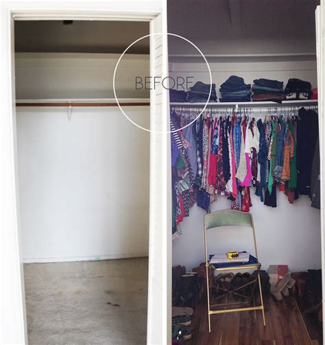 before and after my closet redo emily henderson