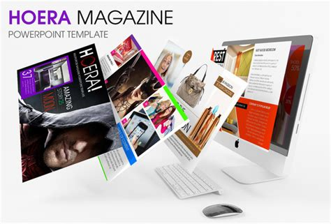 magazine powerpoint template hoera magazine powerpoint template presentation