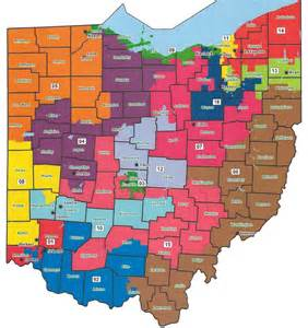 united states congressional districts map ohio state representative districts map