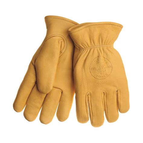 Cowhide Gloves cowhide gloves with thinsulate large 40017 klein tools for professionals since 1857