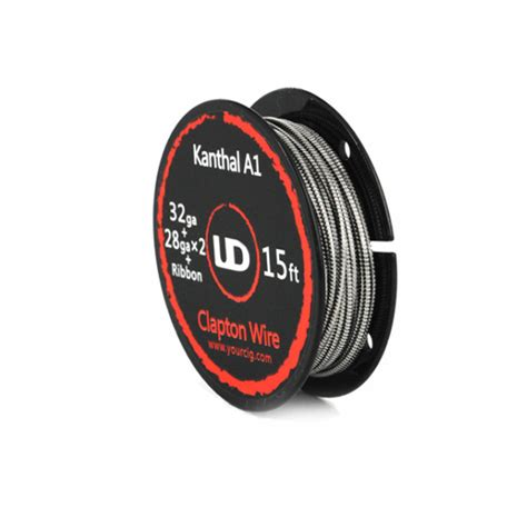Authentic Ud Kanthal 20 Awg 15ft A1 Youde Wire Kawat Vape Vapor youde ud 28ga 32ga ribbon clapton kanthal a1