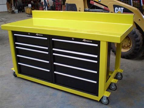 tool box bench work bench table tool box custom built ptci classifieds