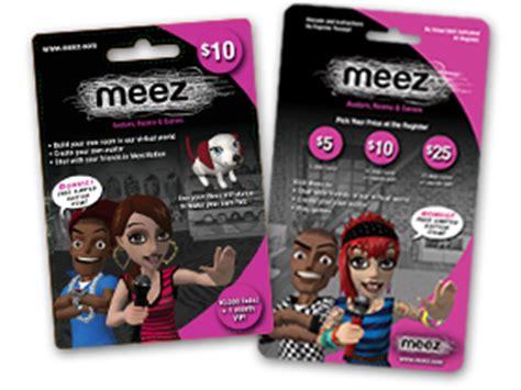 Meez Gift Cards - meez store locator