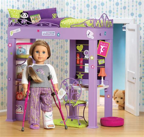 american girl doll mckenna bed more pictures of mckenna american girl of the year 2012