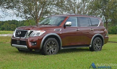 nissan armada platinum 2017 nissan armada platinum awd review test drive