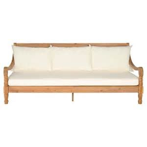 Patio Daybed Safavieh Ferrat Wood Patio Daybed Target