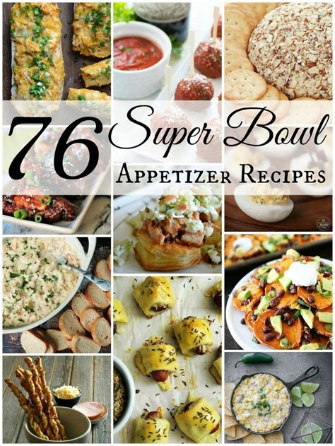 76 super bowl appetizer recipes football the o jays and for the