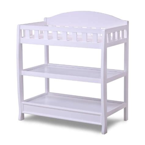 Delta White Changing Table Delta Children Infant Changing Table With Pad White