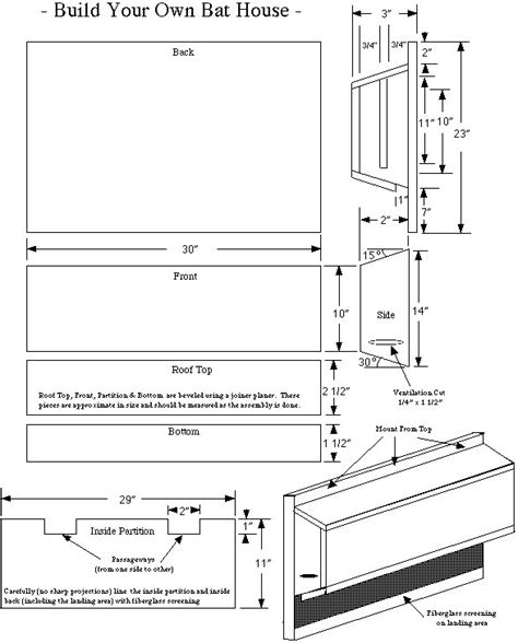 printable bat house plans plans for large bat house house plans