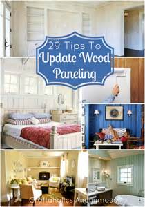 How To Update Wood Paneling Without Painting craftaholics anonymous 174 how to update wood paneling