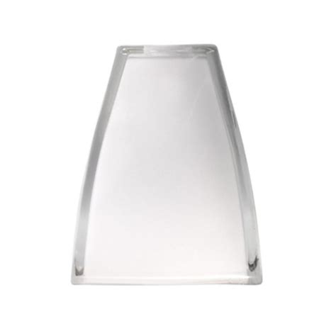 clear glass light shades shop portfolio 6 in h 5 in w clear frost square pendant