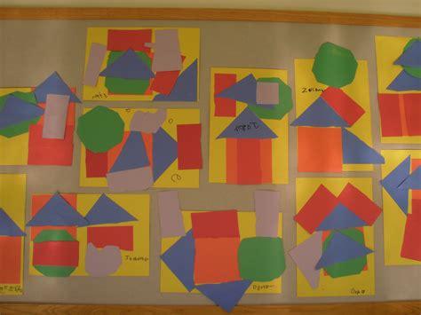painting kindergarten shape project mrs huikko s kindergarten