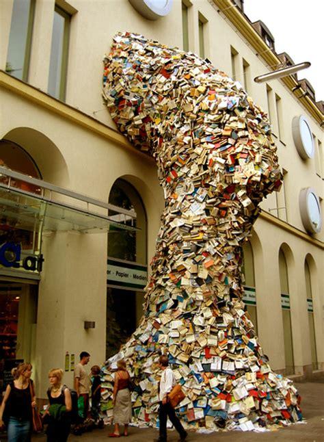 waterfall books waterfalls made of books