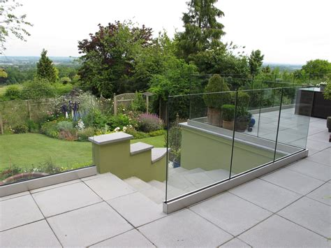 exterior frameless glass balustrade balustrade