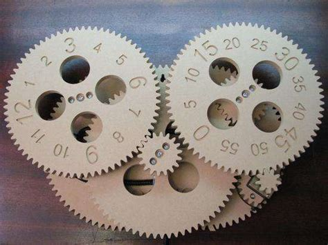 pdf diy diy clock gear gun safe diywoodplans