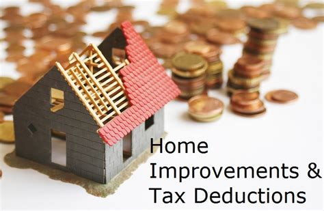 what home improvements are tax deductible money looms