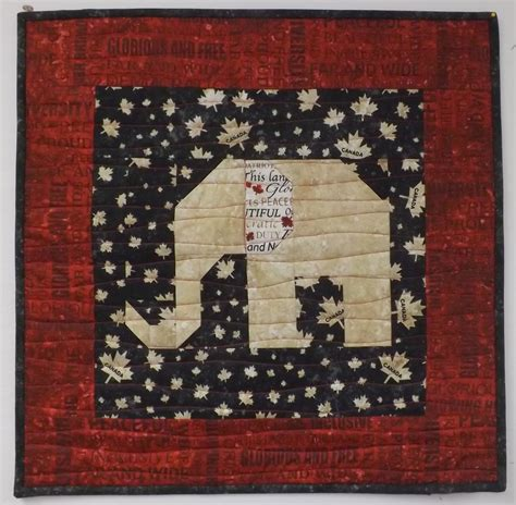 Pillows And Quilts by Treadle Quilts Elephant Baby Quilt And Pillows