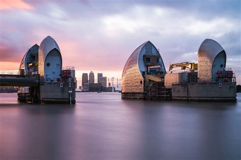 thames barrier benefits mapped where 163 4 4bn is being spent on flood protection in