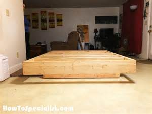 Floating Bed Frame Diy Diy Size Floating Bed Howtospecialist How To Build Step By Step Diy Plans