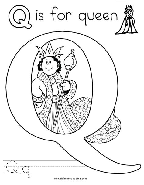 Printable Letter Q Coloring Pages by Letter Q Coloring Pages And Print For Free