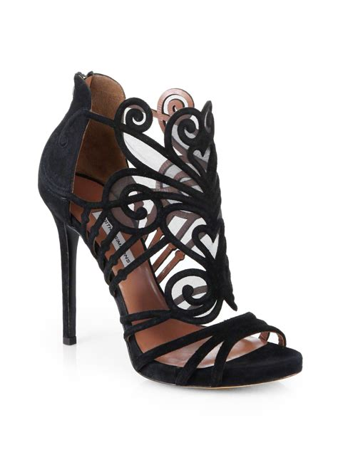 simmons sandals simmons aura suede mesh platform sandals in