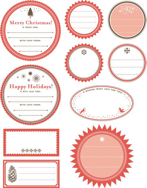 Printable Gift Tag Templates Print Free Gift Wrapping Tags Gift Tag Template Word