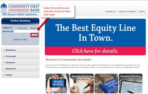 sc bank login community bank south carolina banking login
