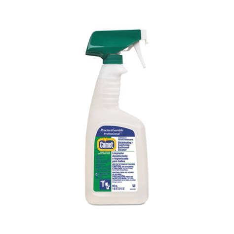 professional bathroom cleaners comet professional liquid disinfectant bathroom cleaner citrus scent 32oz bottle