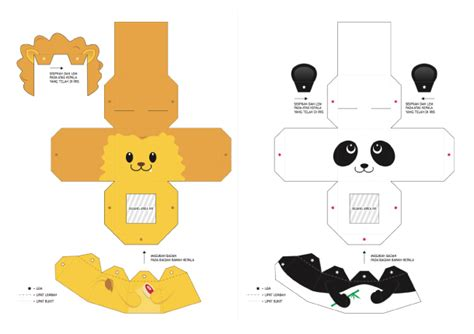 printable paper animals 20 finger puppet papertoys paper toy fr