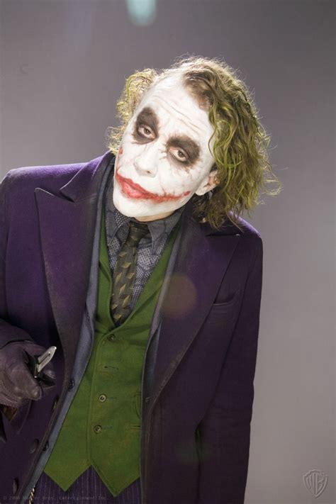 Heath Ledgers Joker Looks Familiar by Heath Ledger Joker The Promotional Photoshoot