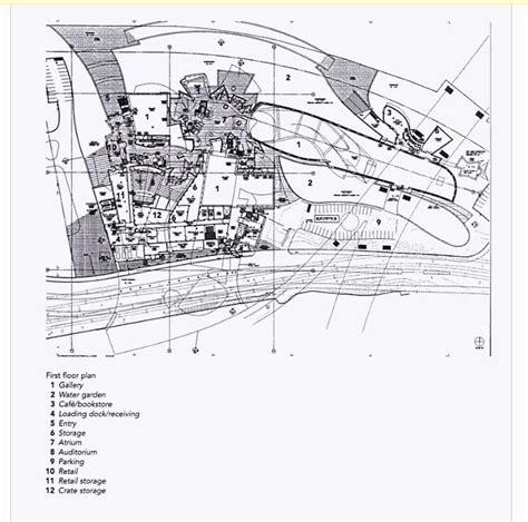 guggenheim floor plan site plan of guggenheim museum bilbao spain frank gehry